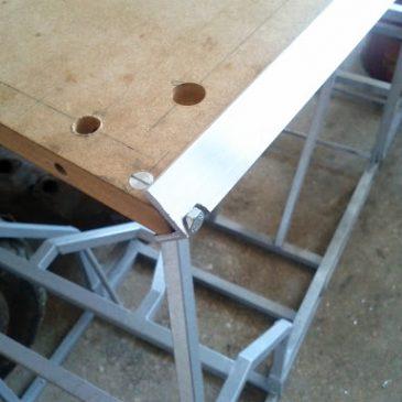 Step 06: Sistema de unión de tableros