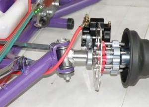 Sistema de direccion de un Kart