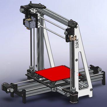 Impresora 3D – Modelo S3RX 1.0