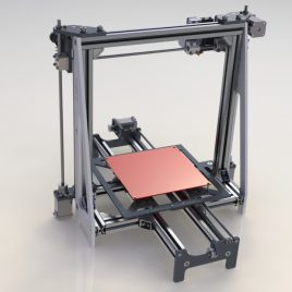 (Español) Planos Impresora 3D Mod. S3RX 1.0