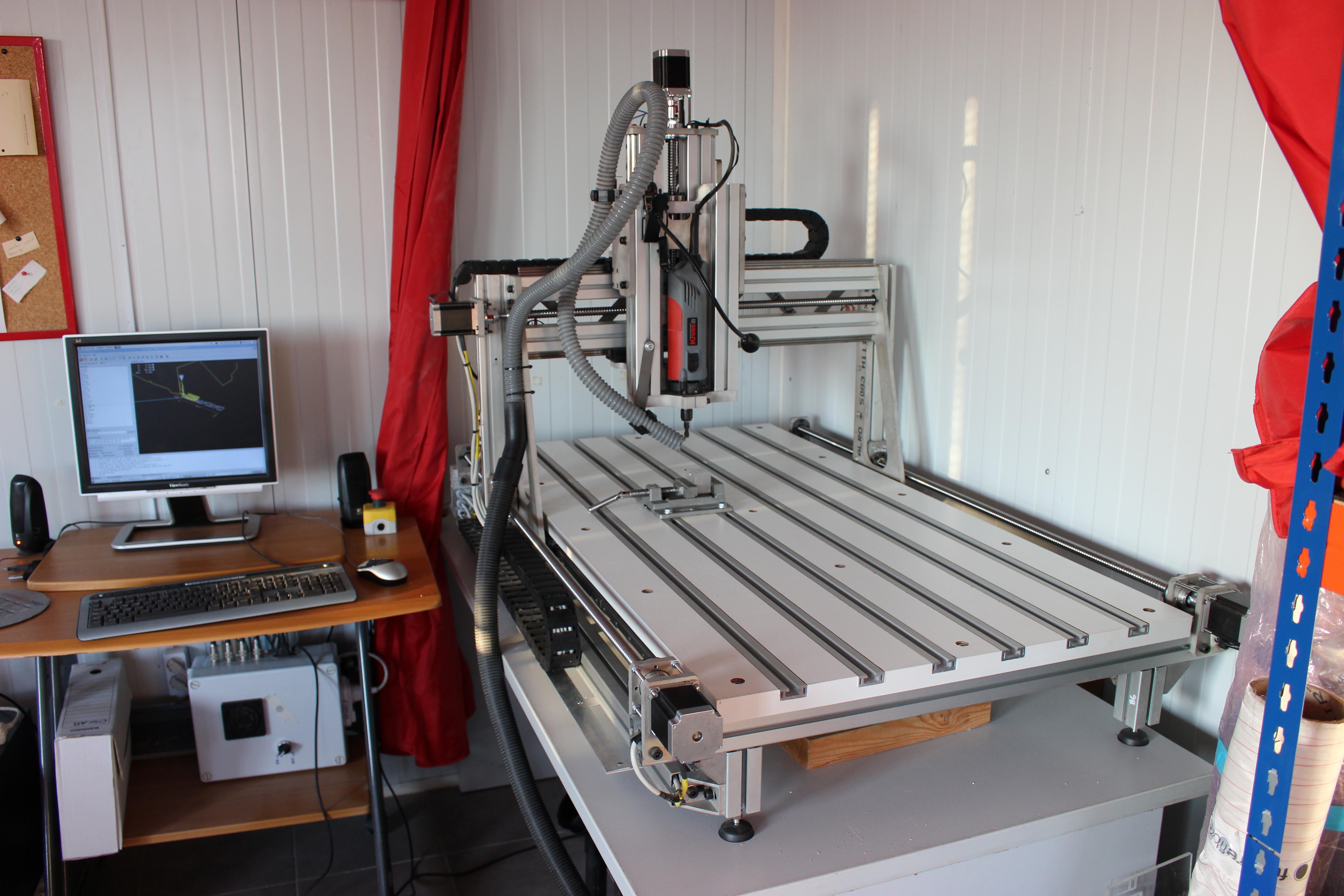 Cnc casero aluminio