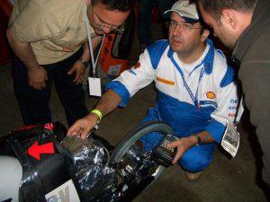 Comprobación del motor