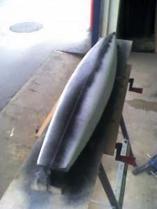 Velero RC Carbono modelo masilla