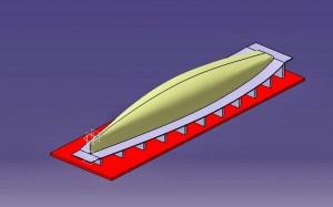 Velero RC Carbono modelo Catia