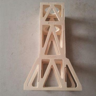 Cut wood and carbon fiber parts with a CNC