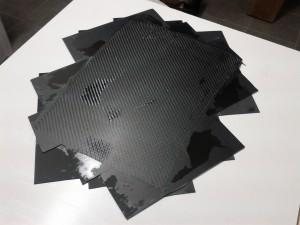 placa fibra de carbono