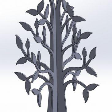 Tree in MDF