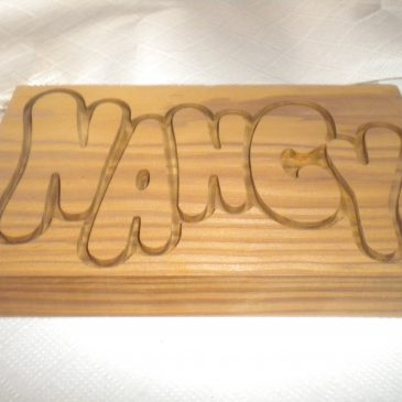 Wood Machining: Nancy label