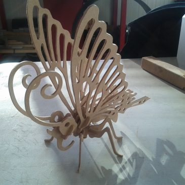 MDF Machining: Butterfly