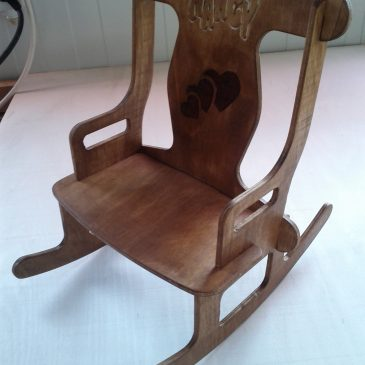 Wood Machining: Rocking chair