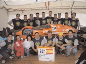 Segunda participación en la carrera con un resultado de 623 km/l.