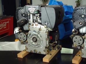 Motor Hatz 1B20 recien desembalado