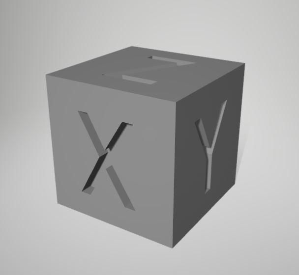 cubo calibracion